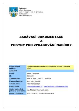 formát pdf - Chrastava
