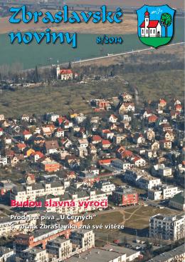 Zbraslavské noviny 8/2014