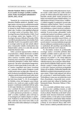 Miroslav Paulíček: Nikdo se neodváží říci, že je to nudné: Sociologie