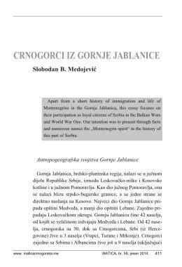 Slobodan Medojević - Matica crnogorska