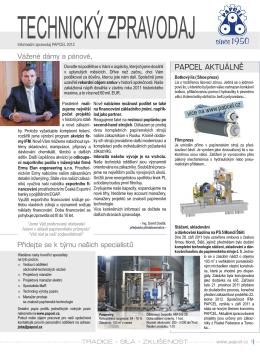 Technický zpravodaj č. 15/2012