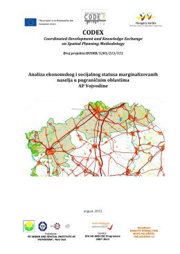 Analiza ekonomskog i socijalnog statusa marginalizovanih naselja u