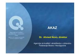 Dr. Ahmed Novo, direktor