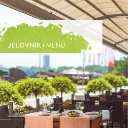 jelovnik / menu - Grand Casino Beograd