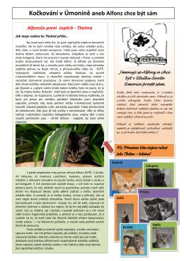 Kočkování 1 - Šanta Úmonín