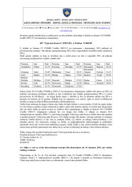"""""""Trgovina Kosova"""" u PrištinuOtvori PDF"""