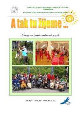 Červen 2013 - Domov Odry