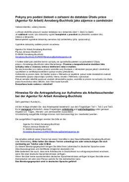 (Agentur für Arbeit) Annaberg