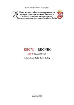 EBC*L REČNIK