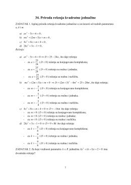 34.Priroda_resenja_kvadratne_jednacine