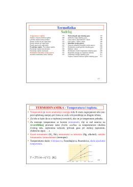 Termofizika za studente Tehnološkog fakulteta (PDF)