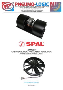 katalog SPAL 2013