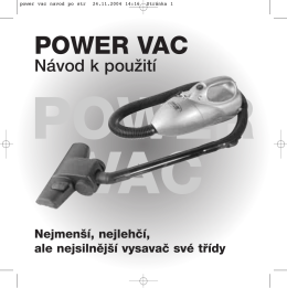 POWER VAC - WS International