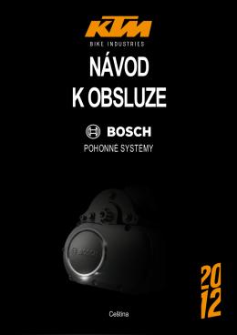 Návod pohonu Bosch 2012