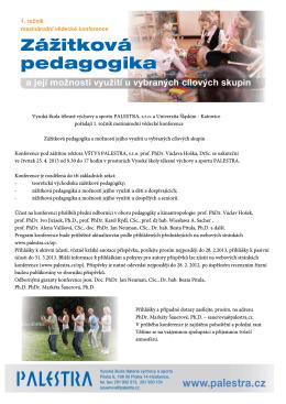 Zážitková pedagogika
