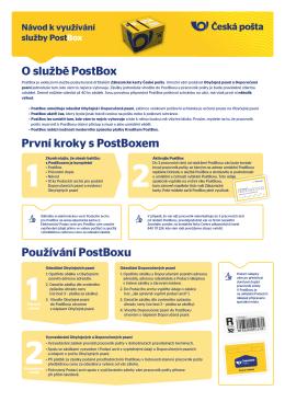 O službě PostBox