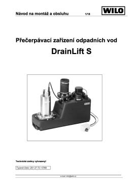 Drain Lift S
