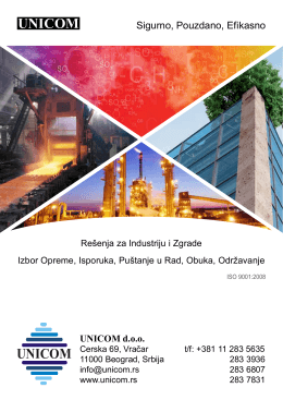 UNICOM brošura