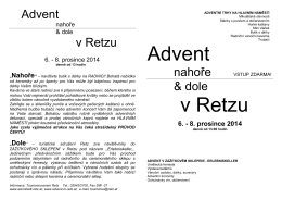 Advent v Retzu - Advent in Retz