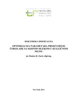 Doktorska disertacija
