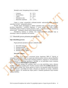 TP 1.2.006. Tehnološki projekat primarne prerade drveta