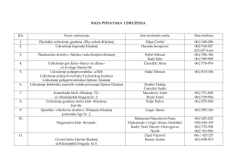 Udruženja, društva, klubovi-kontakt telefoni (.PDF 71 KB)