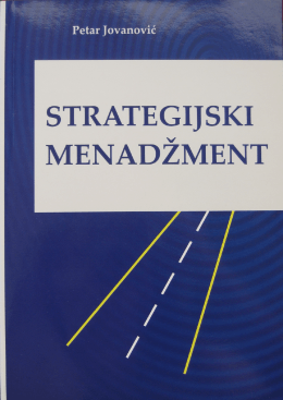 Strategijski menadzment izbor PJ