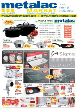 SVE ZA KOLAČE - Metalac Market
