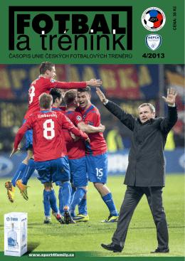 Časopis Fotbal a trénink - č. 4 - 2013