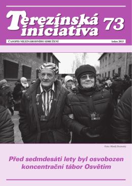 leden 2015 - Institut Terezínské iniciativy