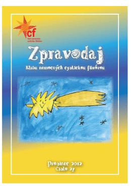 Zpravodaj 27/2012 - Klub nemocných cystickou fibrózou