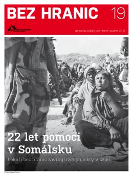 22 let pomoci v Somálsku