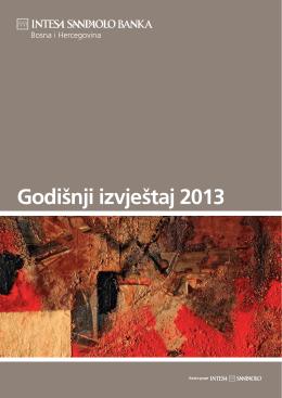 Godišnji izvještaj 2013