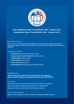 20. Aprila, 2012. Finalni Program - PDF dokument