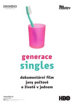 generace singles presskit.indd