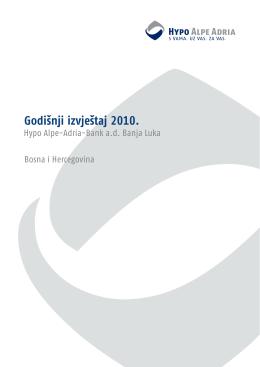 Godišnji izvještaj 2010. - Hypo Alpe-Adria