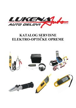 KATALOG SERVISNE ELEKTRO-OPTIČKE OPREME - Lukena-Auto