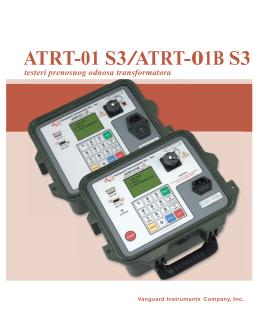Preuzmite katalog Vanguard USA ATRT-01 S3