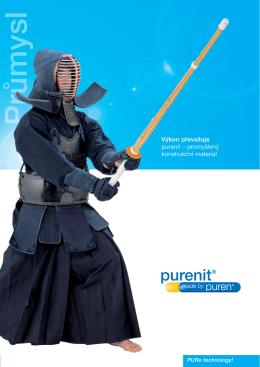 Více info o samotném materiálu Purenit