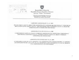 Udhezim_Administrativ_16_2009 - Administrata Tatimore e Kosovës