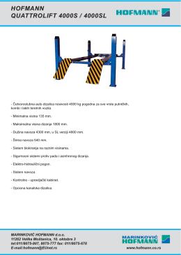 Quattrolift 4000S:Layout 1.qxd