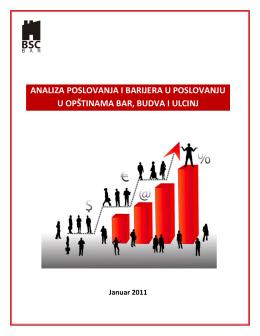 analiza poslovanja i barijera u poslovanju u opštinama