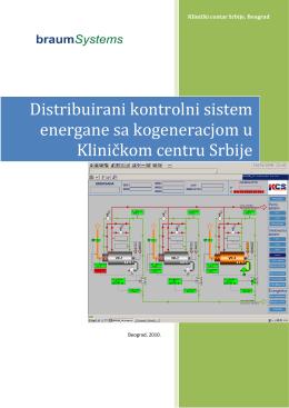 Distribuirani kontrolni sistem za upravljanje