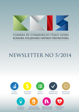 NEWSLETTER NO 5/2014 - Komora italijansko