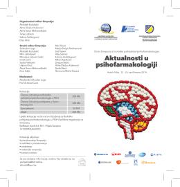 UBPP FBIH -brosura 10x21cm - Udruženje/Udruga psihijatara u