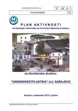 """""""Unioninvestplastika"""" d.d. Sarajevo"""