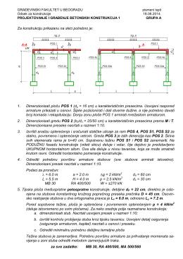 Rokovi PGBK-1 NOVI nastavni plan jun 2014