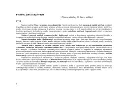 Bosanski jezik i književnost