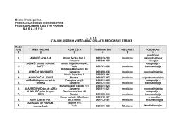 medicina 23.10.2014.pdf - Federalno ministarstvo pravde