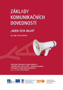 Základy komunikačních dovedností - SKP